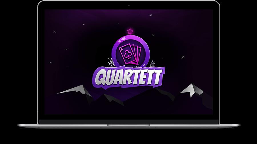 Netigo Weihnachts-Quartett