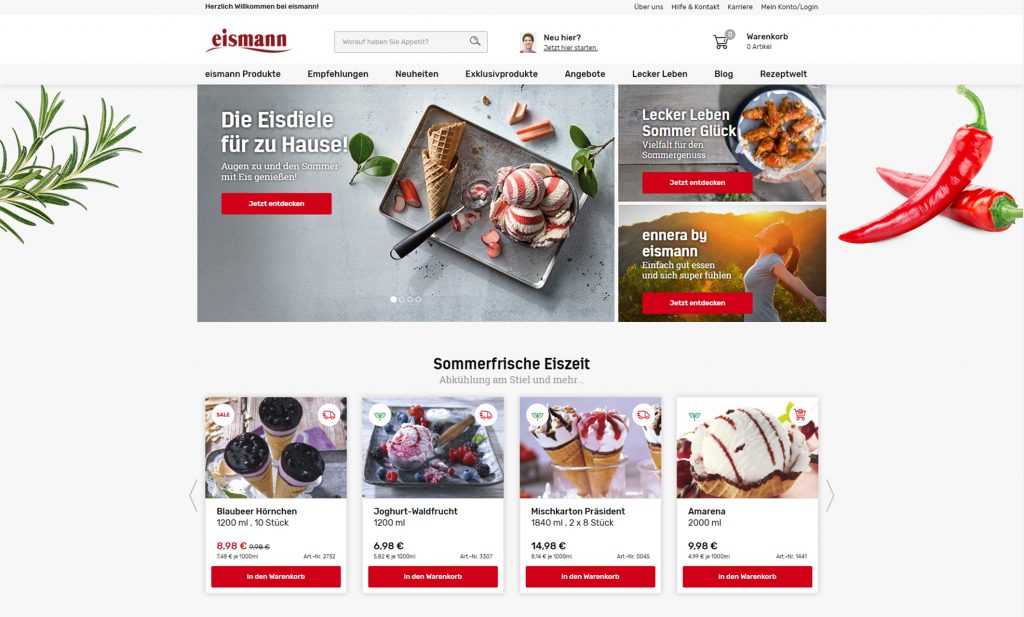 eismann-home-screen