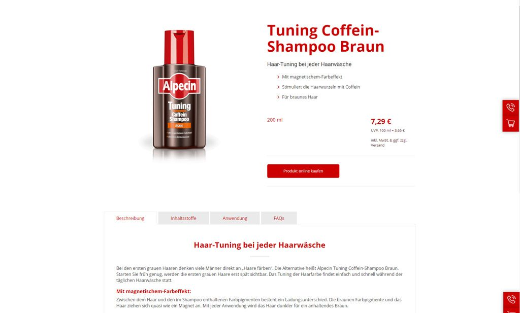 Alpecin-Produkt-Coffein-Shampoo